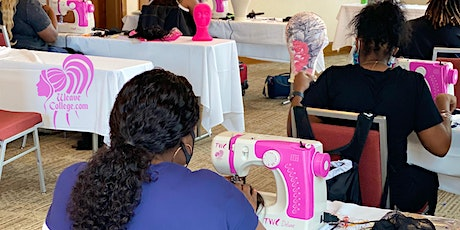 Jacksonville FL Lace Front Wig Making Class with Sewing Machine tickets