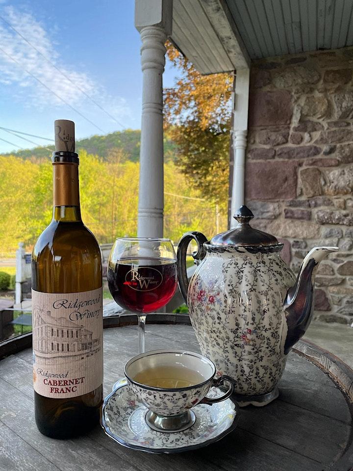 High Tea - A Sip & Sip Afternoon   2-4 @Ridgewood Winery Birdsboro 10.17.21 image