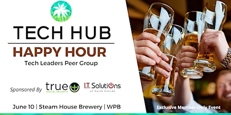 TECH LEADERS PEER GROUP | In-Person Happy Hour (Member Exclusive) tickets