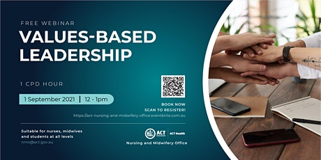Values-based Leadership - A Webinar for Nurses and Midwives tickets