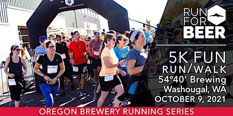 Beer Run - 54°40' Brewing | 2021 OR Brewery Running Series tickets