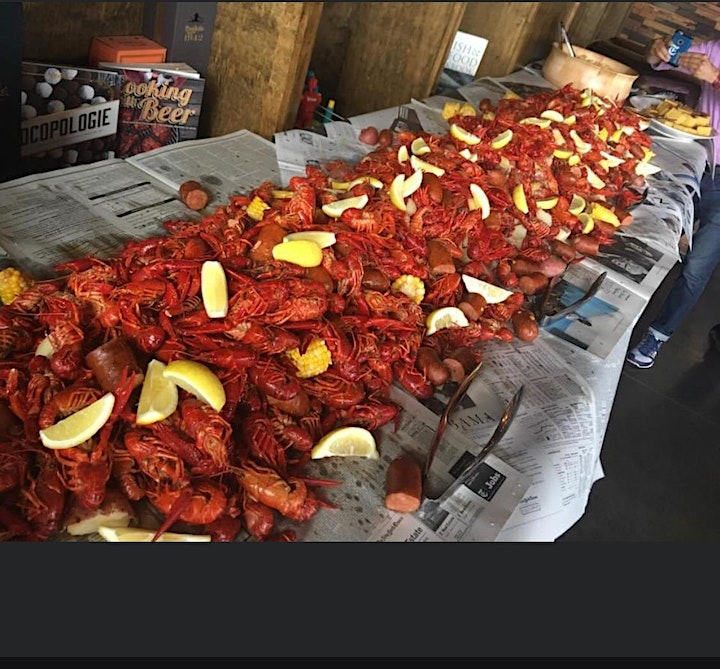Brews, Oysters and Crawfish Boil image