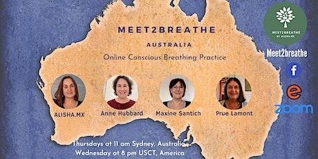 Meet2Breathe Online - Australia tickets