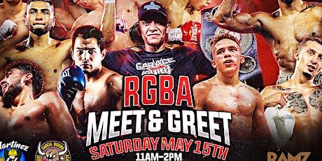 Robert Garcia Boxing Academy Meet and Greet with WBA Champ Joshua Franco tickets