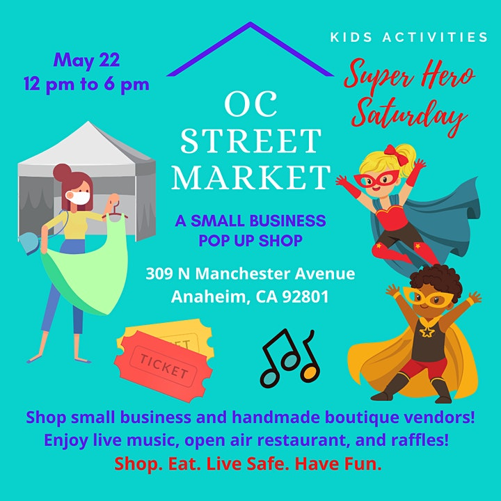 Outdoor Street Boutique - Over 35++ Vendors - FUN Kids Activities - Music image