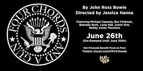 Play-PerView: Four Chords and A Gun (Live-Reading) tickets