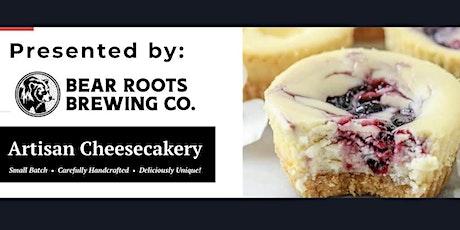 Artisan Cheesecake + Bear Roots Beer Pairing tickets