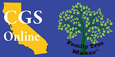 Family Tree Maker® tickets