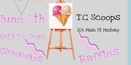 Paint & Ice Cream tickets
