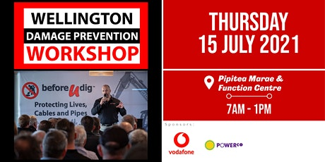Wellington Damage Prevention Workshop 2021| Free tickets available tickets