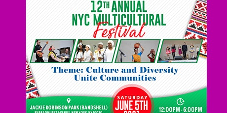 Tabling at the 12th Annual NYC Multicultural Festival Part II tickets