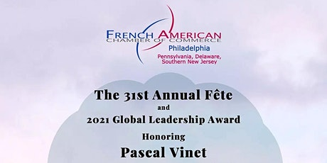 The 31st Annual Fête Gala and 2021 Global Leadership Award tickets