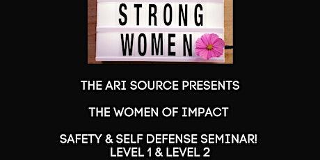The ARI Source's Women Safety & Self Defense tickets