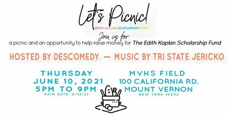 Let's Picnic! Edith Kaplan Scholarship Fundraiser tickets