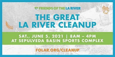 The Great LA River CleanUp: Sepulveda Basin Sports Complex tickets