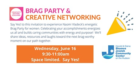 Brag Party & Creative Networking tickets