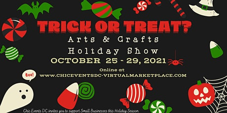 Trick or Treat Arts & Crafts Holiday Virtual Marketplace tickets