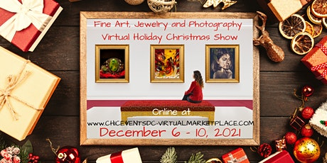 Fine Art, Jewelry and Photography Virtual Holiday Christmas Show biglietti