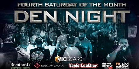 VicBears - Den Night tickets