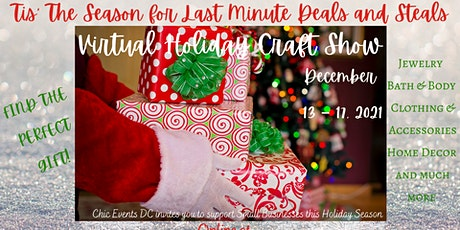 Last Minute Deals & Steals Holiday Show ~ Online Event bilhetes