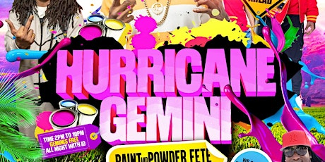 Hurricane Gemini tickets