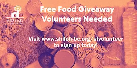 Share Food  Giveaway Volunteers tickets