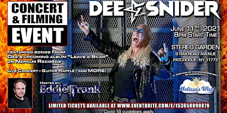 Dee Snider Returns To Patchogue! tickets
