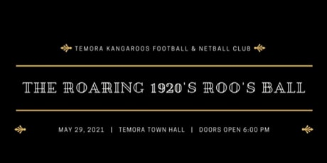 The Roaring 1920's Roos Ball tickets