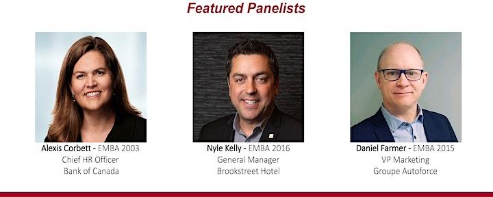 2021 Telfer Executive MBA Alumni Association AGM image