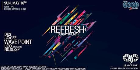 "What's Good Chicago? Presents ""Refresh"" Sunday Brunch4 tickets"