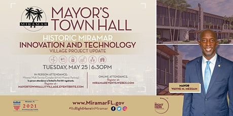 Mayor's Town Hall – Innovation and Technology Village Project Update tickets