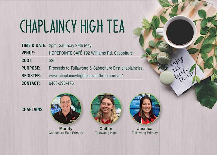 CHAPLAINCY HIGH TEA image