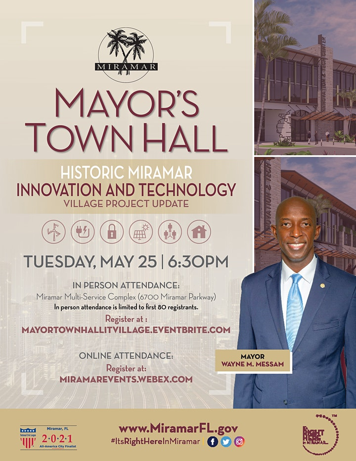 Mayor's Town Hall – Innovation and Technology Village Project Update image
