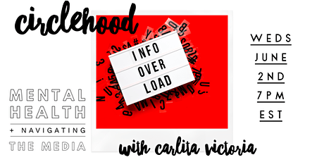 Mental Health and Navigating the Media with Carlita Victoria tickets