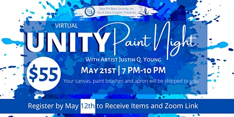 Greek Unity Paint Night tickets