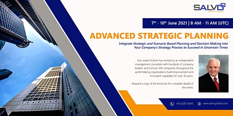 Advanced Strategic Planning tickets