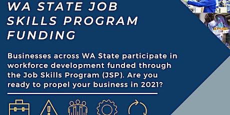 JSP Workforce Development Informational Webinar tickets
