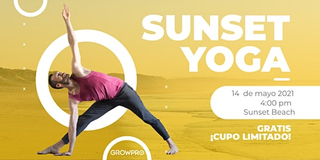 SUNSET YOGA  CON GROWPRO tickets