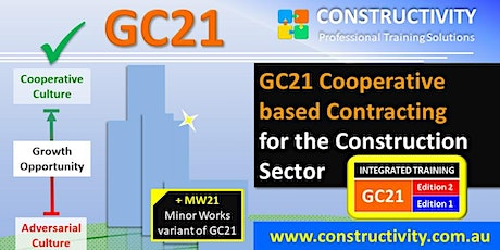 GC21 + MW21 Cooperative based Contracting - Monday 28 June 2021 tickets