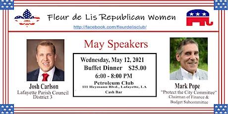 Fleur de Lis Republican Women May Meeting tickets
