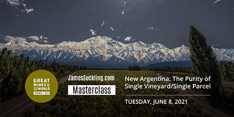 Great Wines of the World Masterclass: New Argentina - The Revolution tickets