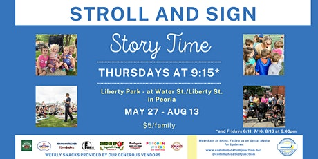 Peoria | Stroll + Sign tickets