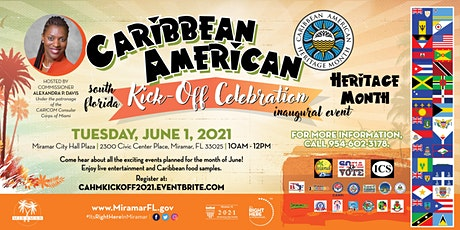 Caribbean-American Heritage Month South Florida Kick-off Celebration tickets