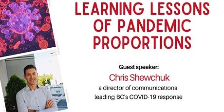 CPRS Vancouver Island AGM: Learning lessons of pandemic proportions tickets