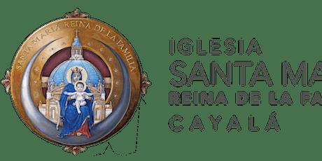 Santa Misa ISMRF del 8 al 15 de Mayo 2021 boletos