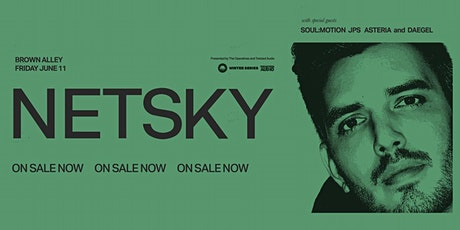 Netsky - Melbourne tickets