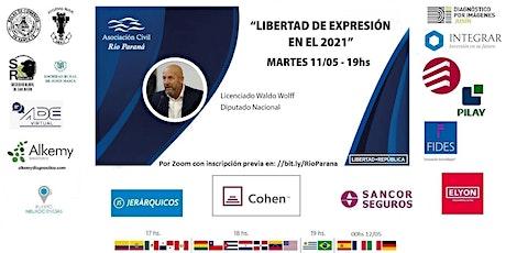 LIBERTAD DE EXPRESIÓN EN EL 2021 entradas