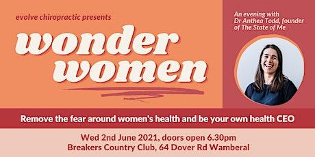 Wonder Women tickets