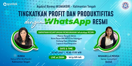 Tingkatkan Profit dan Produktivitas dengan WhatsApp Resmi tickets