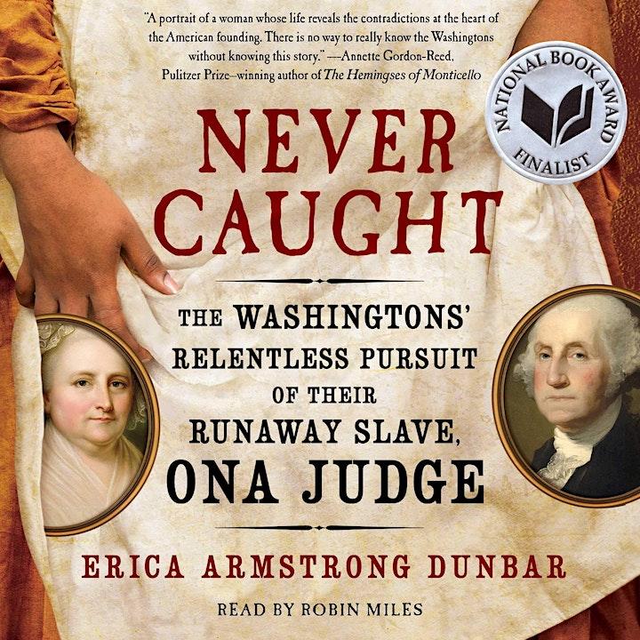 Ona Judge and Her Escape from George & Martha Washington Livestream Program image